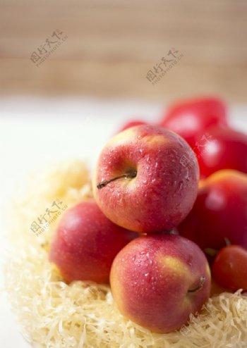 红苹果高清拍摄素材图片