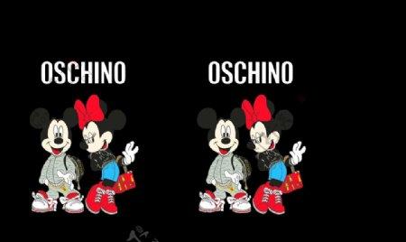 米老鼠定位图片