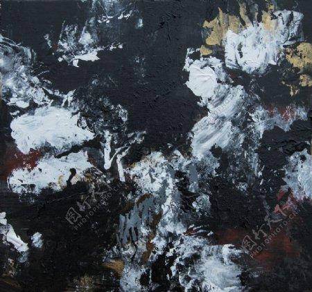 灰色油画背景图片