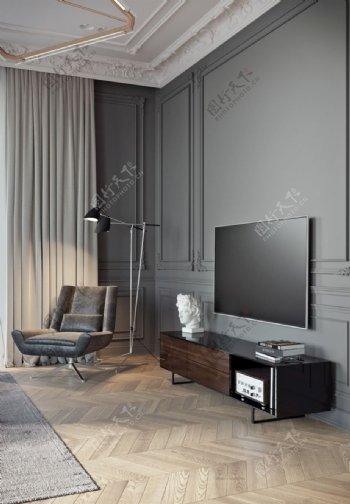 墙纸展示电视背景墙图片