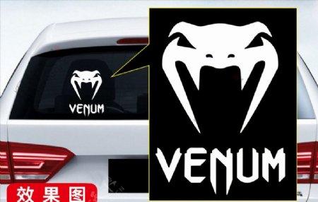 车贴VENUM毒蛇图片