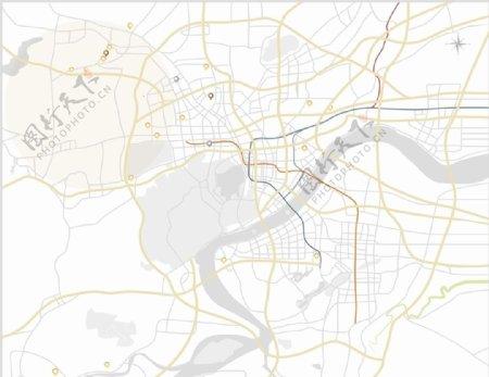 区位图图片图形区域线图