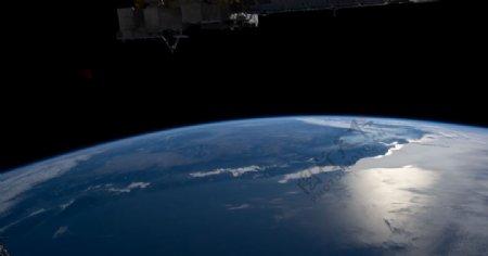 宇宙太空星球科技背景图片