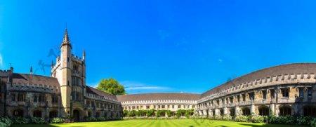 牛津大学校舍图片