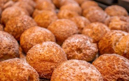泡芙甜品蛋糕图片