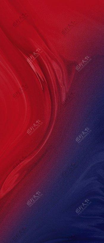 热销红底红蓝质感加推图片