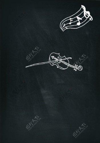 黑板画图片
