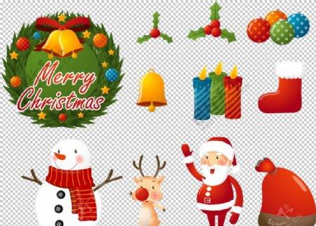 圣诞元素大集合图片