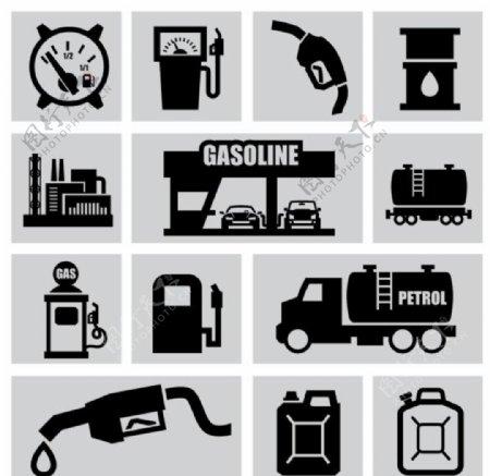 加油站图标图片