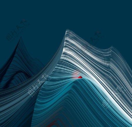 抽象山水图片