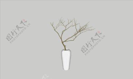 花瓶3d模型图片