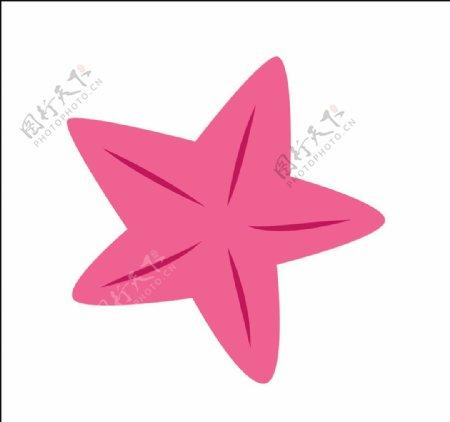 矢量海星图片