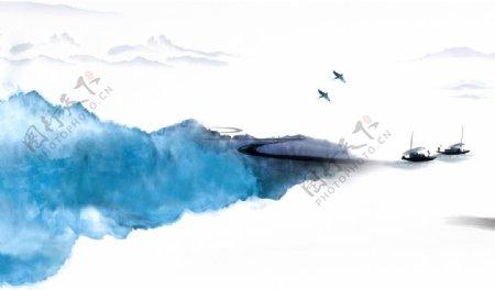 江山如画山水图片