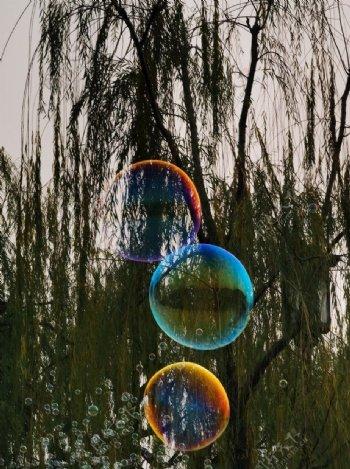 彩虹泡泡图片