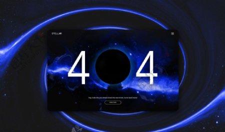 网页设计page404图片