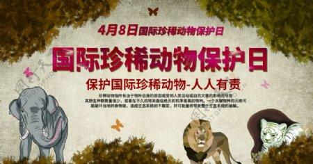 国际珍惜动物保护日图片