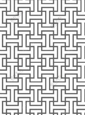 线条黑白图图片
