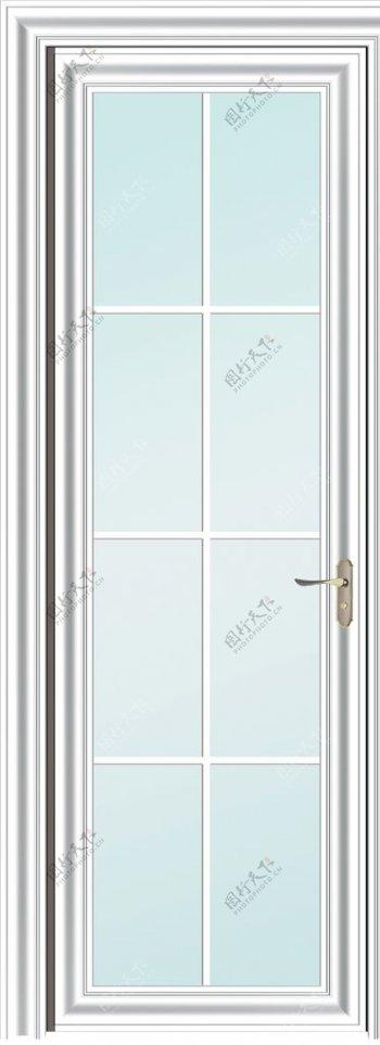 白色平开门厨房门阳图片