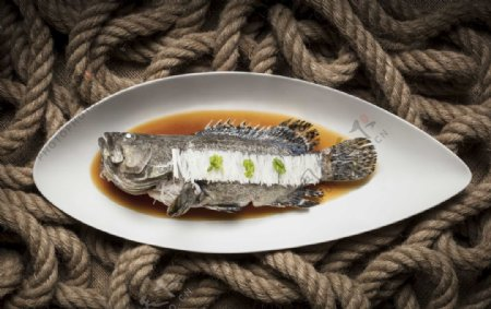 清蒸石斑鱼图片