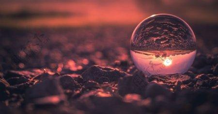 水晶球图片