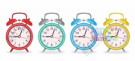 时间卡通钟表秒表时钟格式模板图片