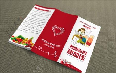 知晓血压高血压高血压海报图片