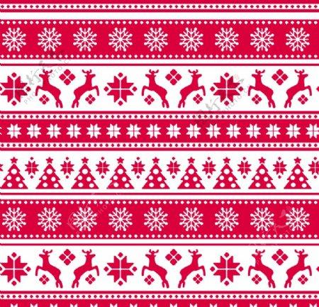 圣诞鹿数码印花图片