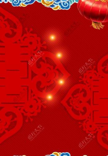 红色背景喜庆背景图片